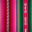 Wooven Wool Boliva traditional Fabric Background colourful Textu — Stock Photo #33612423