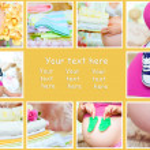 Pregnant woman collage — Stock Photo #39311413