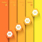Hexagonal Infographic Banner — Photo