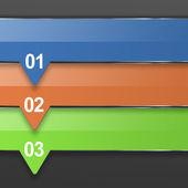 Infographik banner — Stockfoto