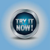 Try it Now Button — Stock Vector