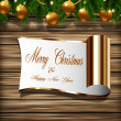 Holiday Greeting Card — Stock Photo