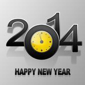 Frohes neues jahr 2014 — Stockfoto