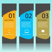 баннер инфографики — Cтоковый вектор