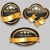 Quality Badge Set — Vetorial Stock