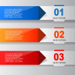 Infographic Banner Template — Stock Vector