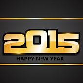 Feliz ano novo 2015 — Vetorial Stock