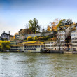 Zurich in autumn — Stock Photo