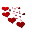 Hearts for Valentines Day — Stock Photo