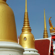 Bangkok, Thailand: Wat Chaichana Songhkram in Chinatown — Stock Photo