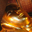 Bangkok, Thailand: Reclining Buddha at Wat Pho — Stock Photo