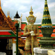 Bangkok, Thailand: Wat Phra Kaeo at the Royal Palace — Stock Photo
