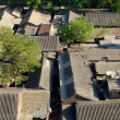Beijing, China: View of a Traditional Courtyard Hutong — Stock Photo