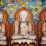Постер, плакат: Shi Fang China: Buddha Figures at the Luo Han Temple