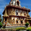 Phuket, Thailand: Vihan Hall at Wat Chalong — Stock Photo