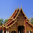 Stock Photo: Chiang Mai,Thailand: Wat PhrSingh Temple Pavilion
