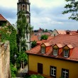 Meissen, Germany: Church Tower and Old Town — Stock Photo