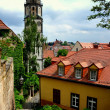 Meissen, Germany: Church Tower and Old Town — Stock Photo #34972767