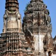 Ayutthaya, Thailand: Ruins of Wat Chai Wanaram — Stock Photo