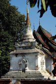 Chiang Mai, Thailand: Chedi at Wat Phra Sat — Stock fotografie