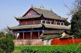 Pengzhou, China: Dong Yuan Si Temple — Stock Photo