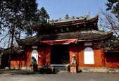 Pengzhou, China: Dong Yuan Si Temple — Foto Stock