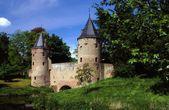 Amersfort, the Netherlands: c. 1430 Monnikendam Water Gate — Stock Photo