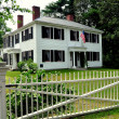 Stock Photo: Concord, MA: Ralph Waldo Emerson Home