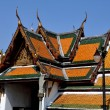 Stock Photo: Bangkok,Thailand: Clositer Gallery Roofs at Wat Suthat