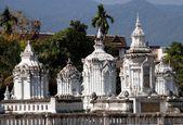 Chiang Mai, Thailand: Royal Reliquary Tombs at Wat Suan Dok — Stock Photo