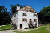 Sleepy Hollow, NY: Circa 1750 Manor House at Philipsburg Manor — Stock Photo
