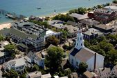 Provincetown, MA: Vista of Town and Waterfront — Stock Photo