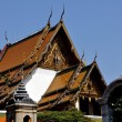 Stock Photo: Bangkok, Thailand: Ubosot Sanctuary Hall at Wat Suthat