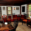 Stock Photo: Sudbury, MA: 1716 Wayside Inn Pub Room