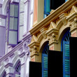 Stock Photo: Singapore: 19th century Shop Houses in Chinatown