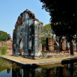 Lop Buri, Thailand: Ruins at Phra Narai Ratcha Niwet Palace — Stock Photo