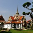 Stock Photo: Bangkok,Thailand: War Arun Monastic Quarter