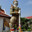 Stock Photo: Bangkok, Thailand: Wat Arun GuardiFigure