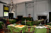 Philadelphia, PA: Assembly Room at Independence Hall — Stock Photo