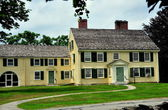 Concord, MA: 1715 Major John Buttrick House — Stock Photo