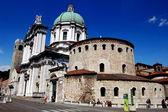 Brescia, Italy: Santa Maria Maggiore Cathedral — Stock Photo