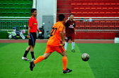 China: Athletes Playing Football — Stock Photo