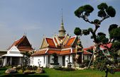 Bangkok,Thailand: War Arun Monastic Quarter — Stock Photo