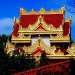 Georgetown, Malaysia: Dhammikarama Burmese Buddhist Temple — Stock Photo