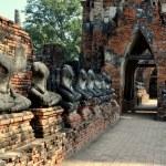 Ayutthaya, Thailand: Wat Chai Wattanaram — Stock Photo #35097119