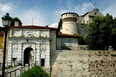 Brescia, Italy: 1343 Visconti Castle — Stock Photo