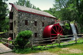 Sudbury, MA: Old Stone Grist Mill — Stock Photo