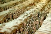 Xi'an, China: Museum of Terra Cotta Warriors — Stock Photo
