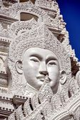 Bangkok, Thailand: Buddha Face at Wat Ratchapradit — Stock Photo