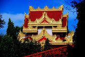 Georgetown, Malaysia: Dhammikarama Burmese Buddhist Temple — Stock Photo